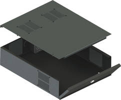 New DVR-LB3 DVR/NVR Lockbox Features Interlocking Lift-Off Lid