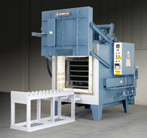 Inert Atmosphere Box Furnace from Grieve Comes with Strip Chart Recorder