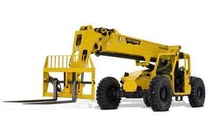 New Traverse T1246X Telehandler Comes with Analog/LCD Gauge Cluster