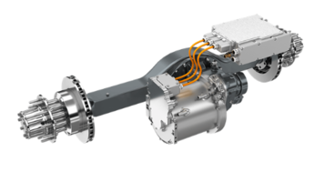 New eS9000r e-Axle Features Battery Input of 450 to 750 VDC