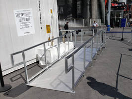 Amramp Provides Access for the Invisible Man Experience at Universal City Walk
