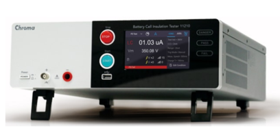 New 11210 Battery Insulation Tester Identifies Defects and Potential Hazards in Battery Cells