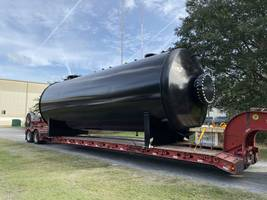 20,000-Gallon Custom-Built Heated Storage Vessel