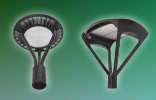 New Decorative LED Post Top Fixtures are Dimmable and IP65 Rated