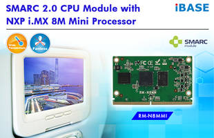 New SMARC 2.0 CPU Module Measures 82mm by 50mm