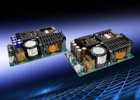 New AC-DC Power Supply Series Includes Input to Output Isolation of 4,000 Vac