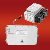 New Class AB High Power Amplifiers Operate in 50 Ohm Environment