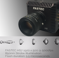 New HS7 High Speed Camera Records FHD 1080p at 2500 FPS