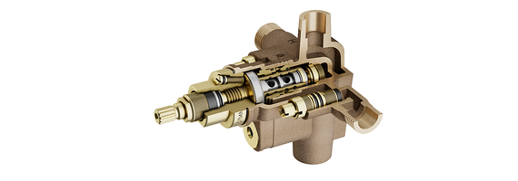 New Temptrol Shower Valve Comes with VersaFlex Integral Diverter