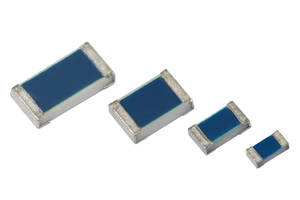 New TNPU e3 Series Chip Resistors are AEC-Q200 Qualified and Can Withstand Harsh Environmental Conditions