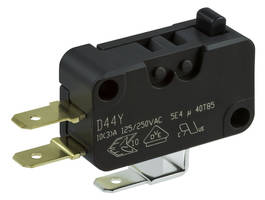 New T85 Snap-Action Switches Meet IEC 60335-1 Requirements