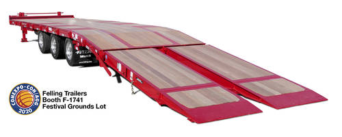 New 11 Foot Air Bi-Fold Ramps Offer 9.5 Degree Load Angle