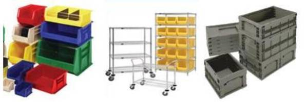 "New Extra Large Plastic Storage Bin Available in 24"", 30"" and 36"" Long"