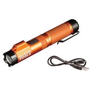 New Rechargeable Focus Flashlight is IP54 Rated, Water and Dust Resistant