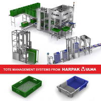 New Automated Tote Management System Utilizes Closed-Loop Process