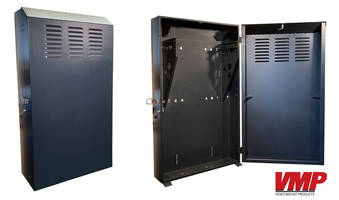 New Vertical Wall Cabinets with Sturdy 150 lb. Weight Capacities