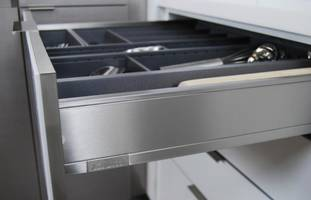 New Stainless Steel Drawers for Transitional or Contemporary Styling