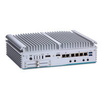 New eBOX710-521-FL Fanless Embedded System Comes with Two Swappable 2.5 in. SATA HDD Drive Bays