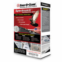 New SpectrumV Holographic Bird Gel Comes with Built-In Glue Troughs