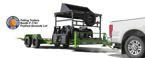 New Removable Attachment Rack Comes with Dual Cushion Cylinder Tilt w/ Lock Valve