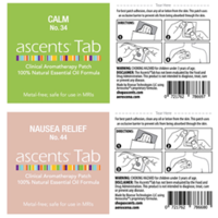 New Ascents Clinical Aromatherapy Patches Prevent Potential Contamination with Viruses or Bacteria