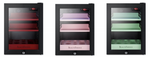 New Beautifridge Refrigerator to Store and Display Cosmetics