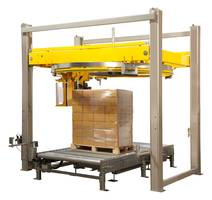 "Signode Displays Octopus ""C"" Series Automatic Rotary Ring Stretch Wrapper at Modex 2020"