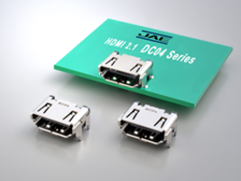 New DC04 Series HDMI Connectors for High Video Resolutions