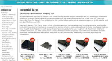 Tarps Now Expands Offerings of Industrial Grade Tarps & Covers Throughout North America