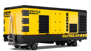New M500-2 Oil-Free Screw Compressor Meets Tier 4 Final Exhaust Emission Standards