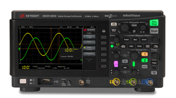 New InfiniiVision 1000 X-Series Oscilloscope Supports Standard USB and LAN Connectivity