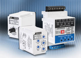 New Motor Control Relays Include LED Status Indicator