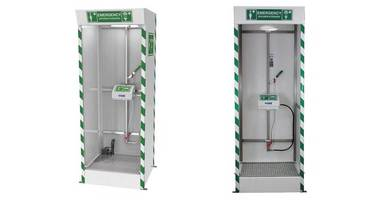 New Hughes Safety Showers and Eye Wash Stations are ANSI-Compliant