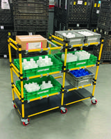 New Angled Cart from Creform Comes with Extra Shelf