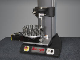 New Rotary Table Springs Force Tester Provides Pass or Fail Report on Each Spring