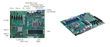 New ATX Motherboards with Intel Q370 or C246 Chipset