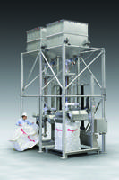 New Sanitary Bulk Bag Filling System Features Dual SWING-DOWN Fillers