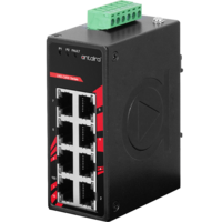 New 8-Port Ethernet Switches Come in IP30 Metal Casing