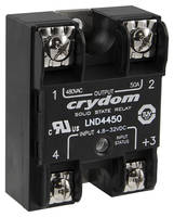 New Panel Mounted Solid State Relay Features Zero Voltage Turn-on Switching