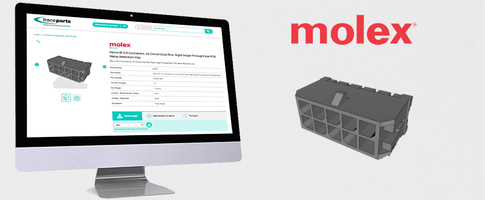 Molex Meets the Needs of Engineers 4.0 by Releasing its New Micro Fit Product Range on Traceparts.com