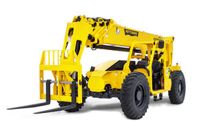 New Extendo 1056X Telehandler Comes with Analog/LCD Gauge Cluster