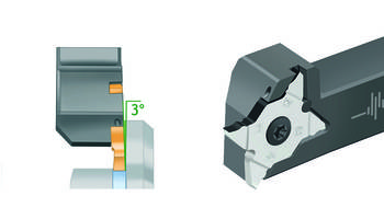New G3051-P Grooving Toolholder Used on CNC Lathes and Multi-spindle Machines
