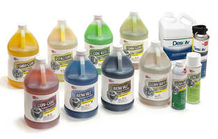New Coil Cleaners with Color-coded and Informative Packaging Design