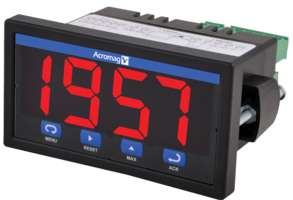 New Panel Meters Come with NEMA 4X Front Panel and are UL/cUL Listed