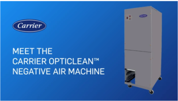 Carrier Announces New Negative Air Machine to Help Slow Spread of COVID-19