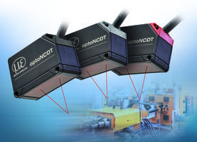 Latest Laser Sensors Offer Integrated Controller Measures Displacement, Distance and Position