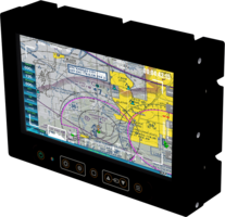 New Rugged Mission Display Comes with PCAP Multipoint Touchscreen Technology