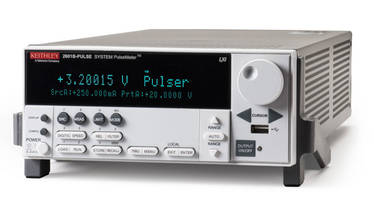 New 2601B-PULSE Measuring Instrument Eliminates Manual Pulse Output Tuning