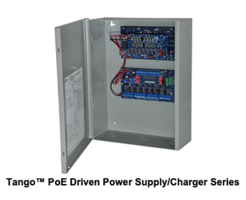 New Power Supply/Charger Delivers 12 and 24 VDC Over 8 or 16 Outputs