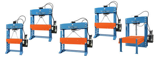 New PressPro Hydraulic Presses with Wide Frame and Movable Table Models